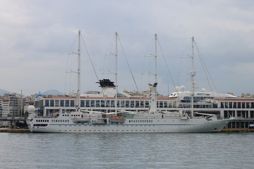 yacht  liner  greece