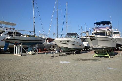 yacht  jeongok port  mars