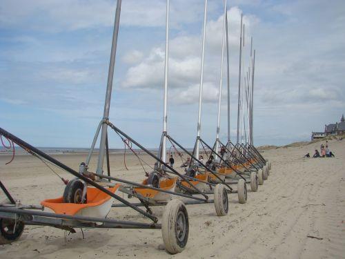 yachting beach race