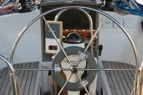 yachting wheel yacht
