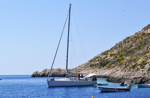 yachts boat landscape zakynthos island greece