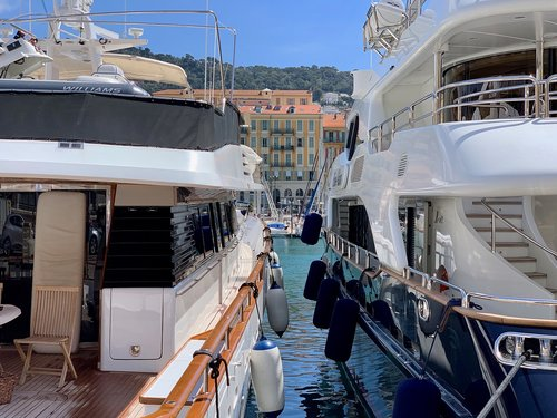 yachts  french  port