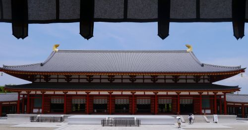 yakushiji nara large auditorium