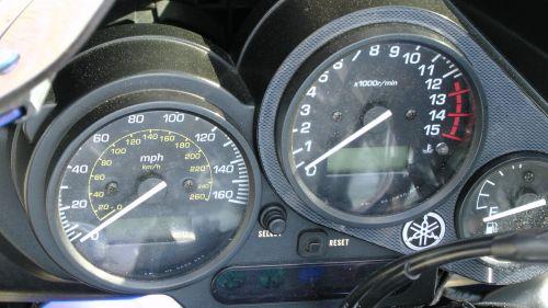 Yamaha Motorcycle Speedometer