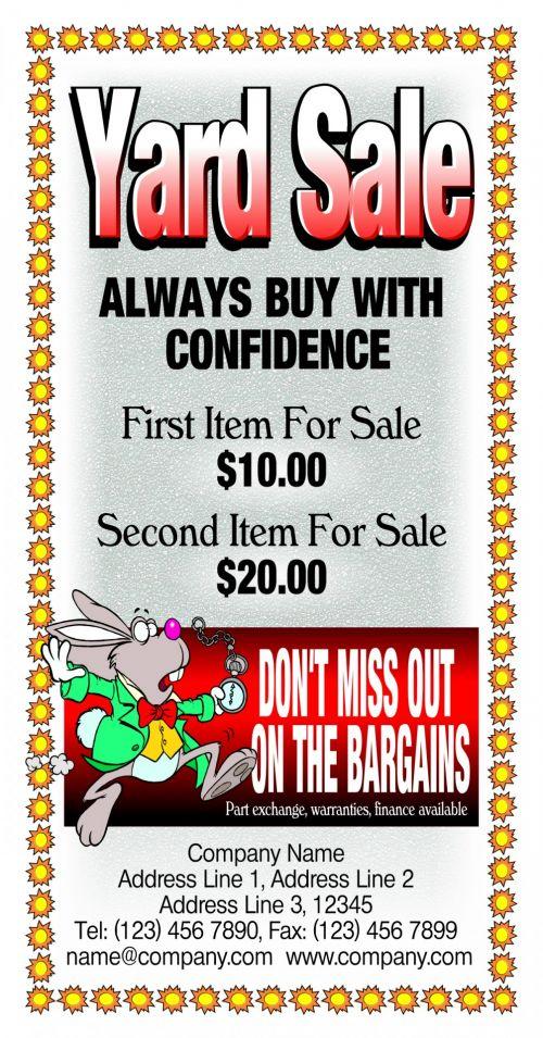kiemas, pardavimas, naudoti, savo, tekstas, pakeisti, Reklama, kiemo pardavimas