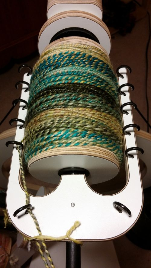 yarn spinning bobbin