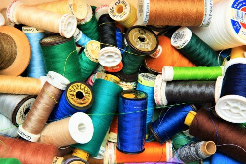 yarn mess colorful