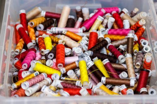 yarn thread colorful