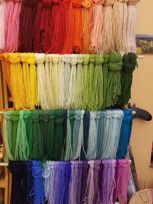 yarn knit fiber