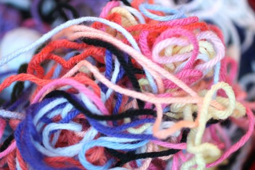 yarn colors tangle