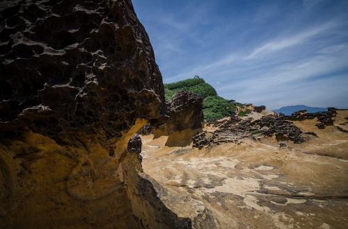 yehliu geopark natural rocks taiwan