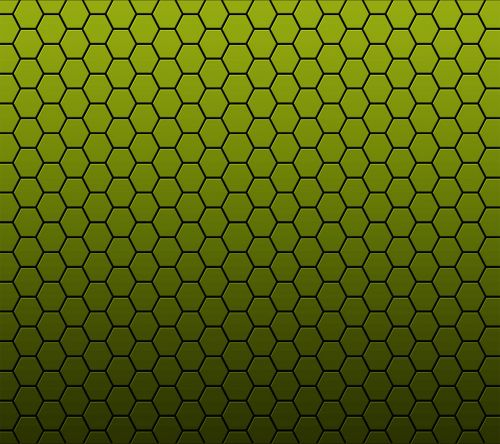 yello honeycomb background vector
