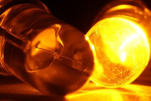 yellow  led  light-emitting diode