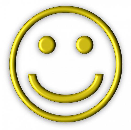 Yellow 3d Smiley Icon