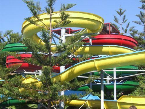 yellow fun pools