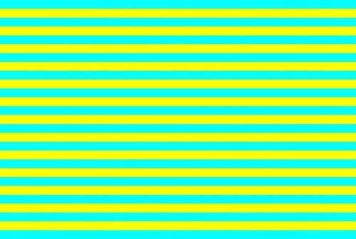 Yellow And Aqua Bands