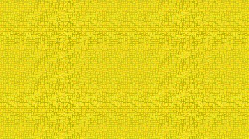 Yellow Bold Mosaic Wallpaper