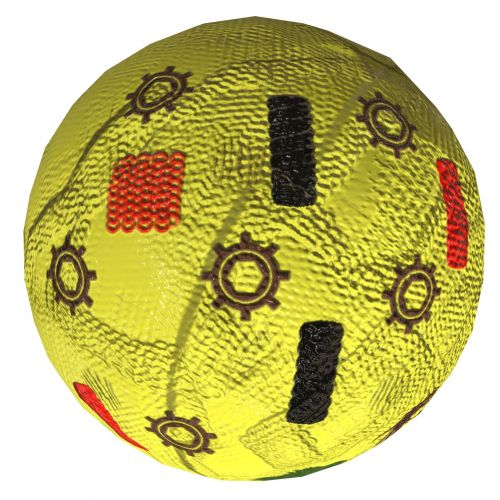 Yellow Fancy Ball