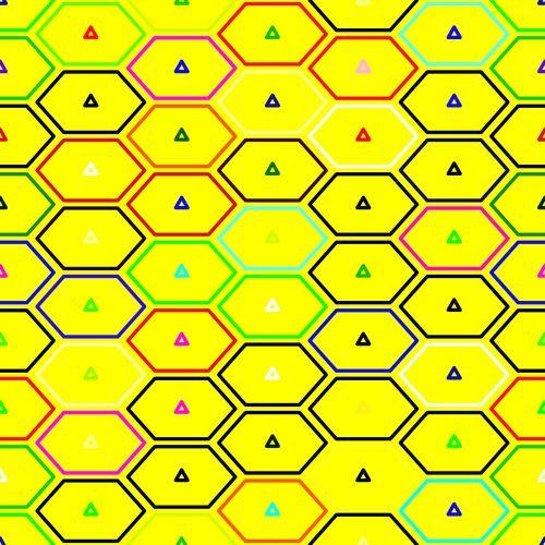 Yellow Hex Bricks