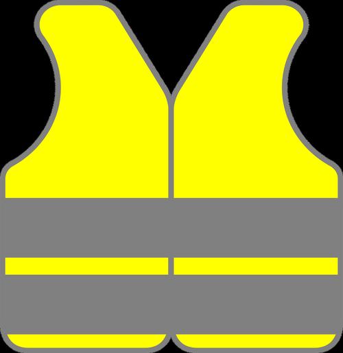 yellow jacket  safety vest  reflective vest