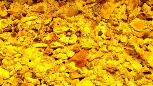 Yellow Pebble Background Pattern
