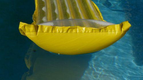 Yellow Raft Swimming Pool