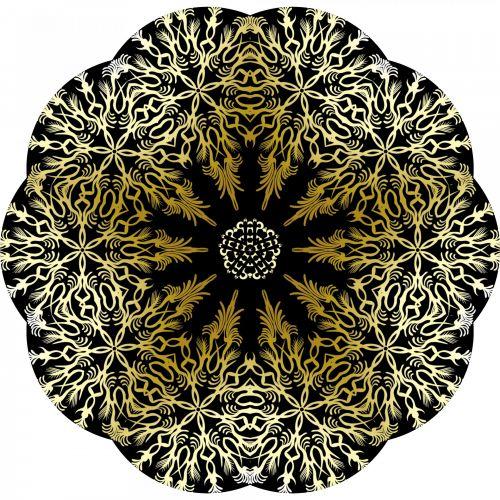 Yellow Snowflakes