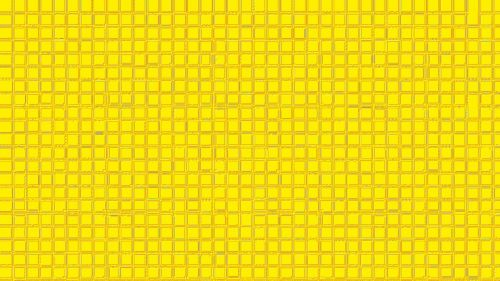 Yellow Squared Wallpaper Background