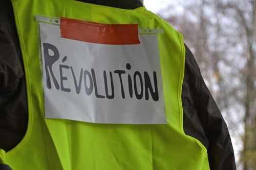 yellow vests  event  revolution