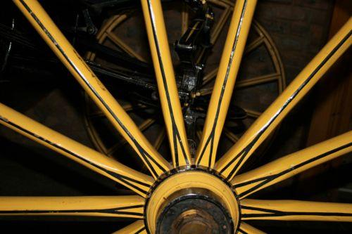 Yellow Wheel Of Buggie