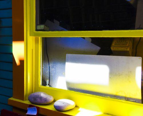 Yellow Window Sill