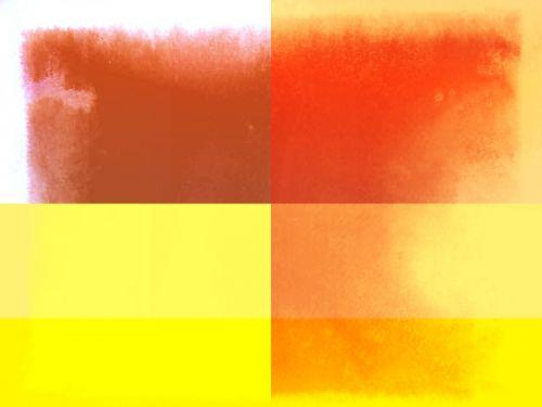 Yellow/Bronze Aquarelle