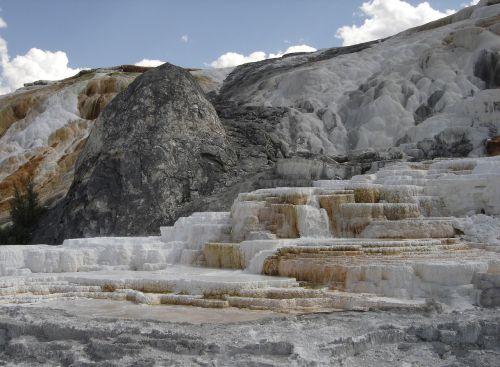 yellowstone mammoth hot springs wyoming