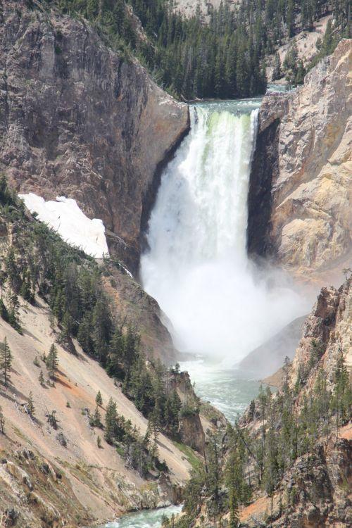 yellowstone falls national