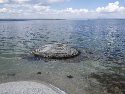 yellowstone lake lake water