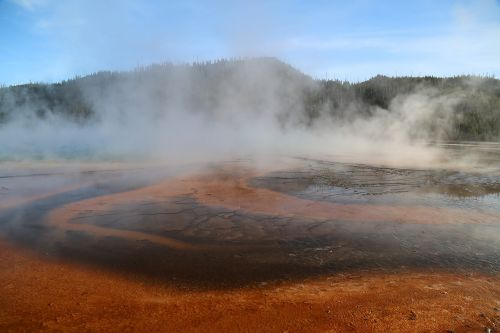 yellowstone national park united states national parks volcanic springs