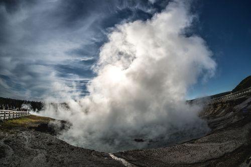 yellowstone national park yellowstone geyser