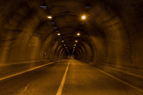 yenice tunnel  tunnel  light