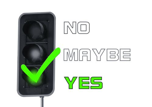 yes consent traffic lights