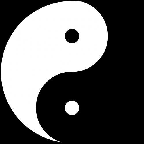 yin yang symbol emblem