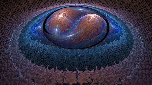 yin yang abstract abstracts