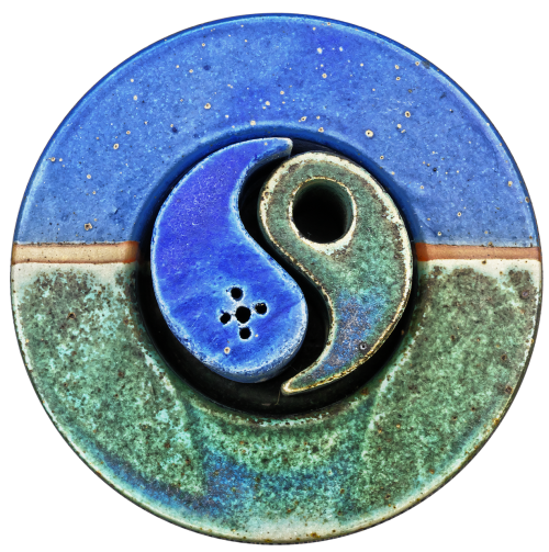 yin yang ceramic decoration