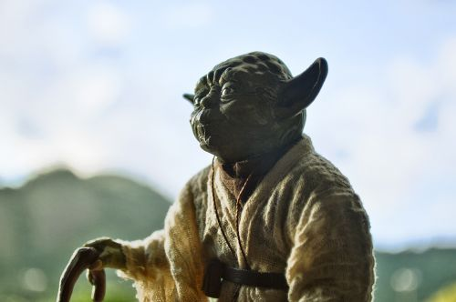 yoda starwars actionfigure