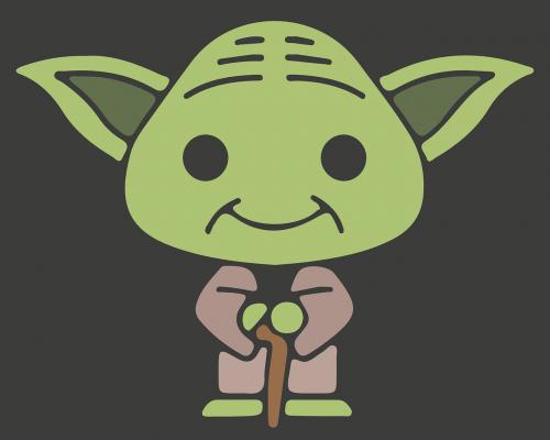 yoda jedi star wars