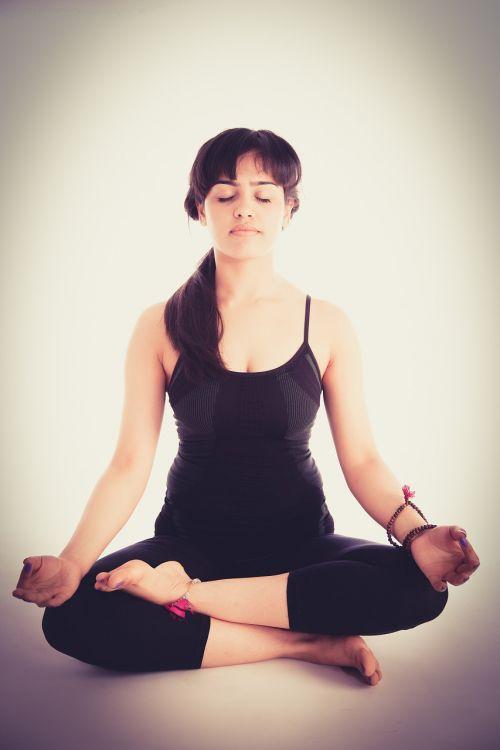 yoga pose women