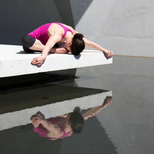 yoga girl woman