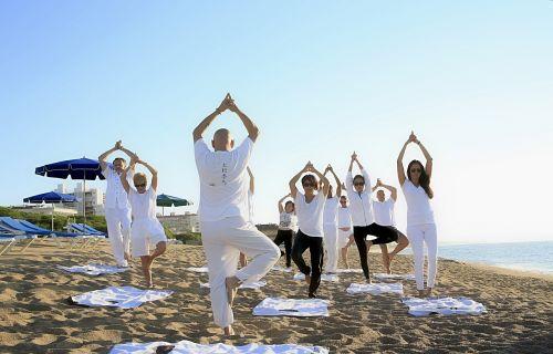 yoga zen practicing yoga