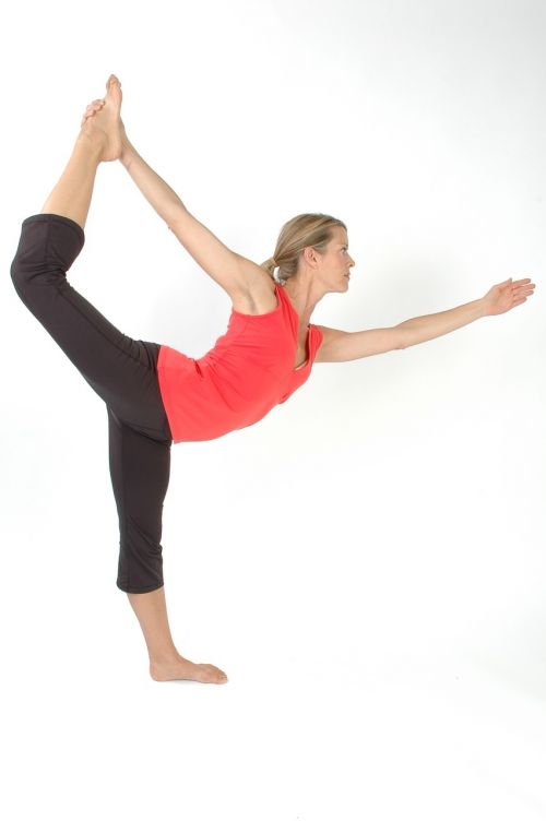 yoga pose pilates