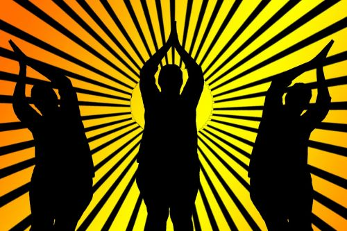 yoga meditation sunbeam