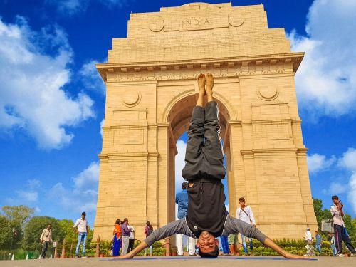 yoga india sky